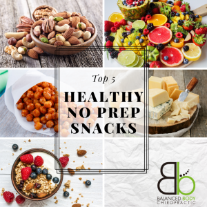 Top 5 Healthy No-Prep Snacks